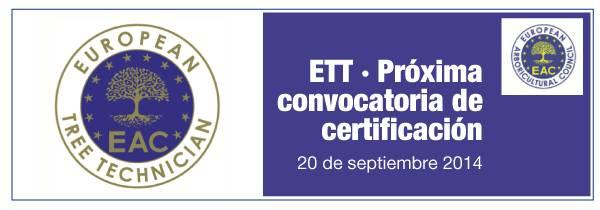 Certificación ETT: PREINSCRIPCIÓN ABIERTA