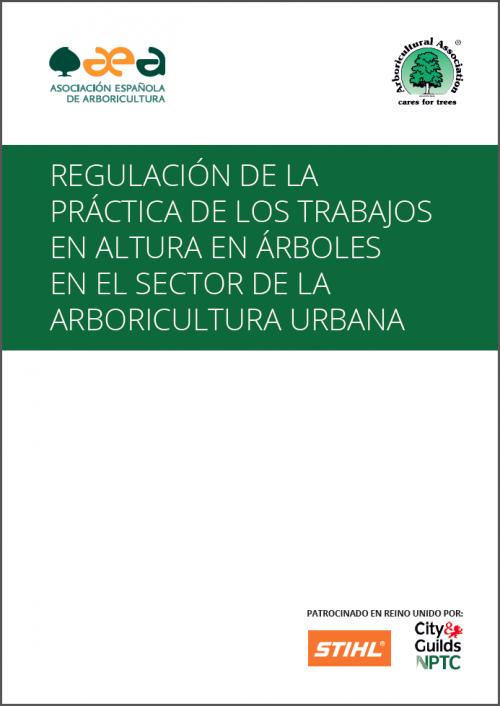 regulacion trabajos arboricultura