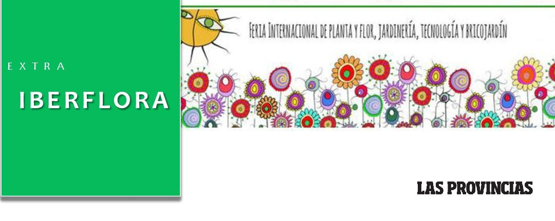 """Suplemento de Iberflora en periódico """"Las Provincias"""""""