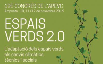 19è Congrès de l´APEVC: Espais Verds 2.0