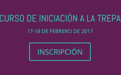 CURSO DE INICIACIÓN A LA TREPA. MADRID 17-18 DE FEBRERO