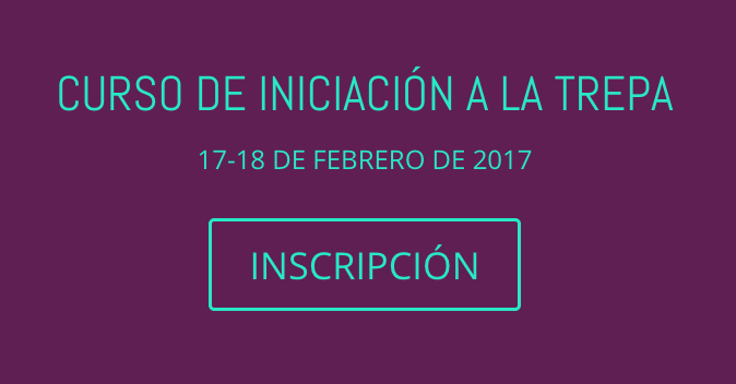 ULTIMAS PLAZAS: CURSO DE INICIACIÓN A LA TREPA. MADRID 17-18 DE FEBRERO