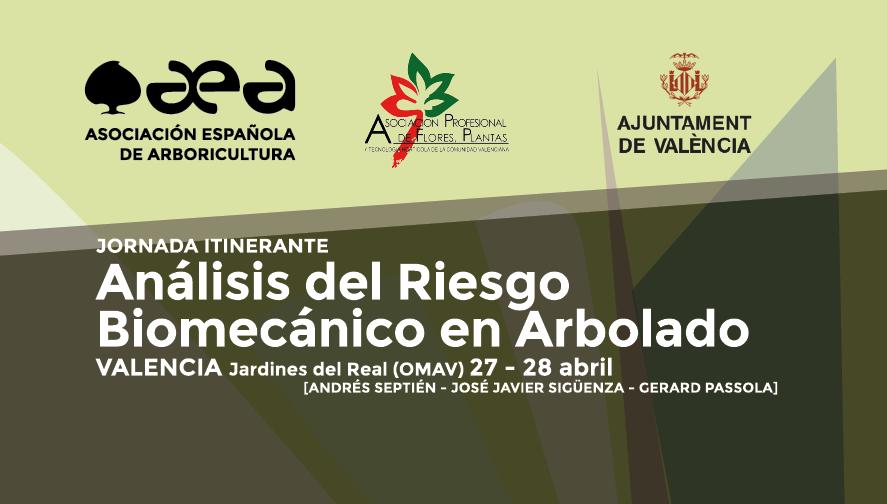 JORNADA ITINERANTE: Análisis del Riesgo Biomecánico en Arbolado