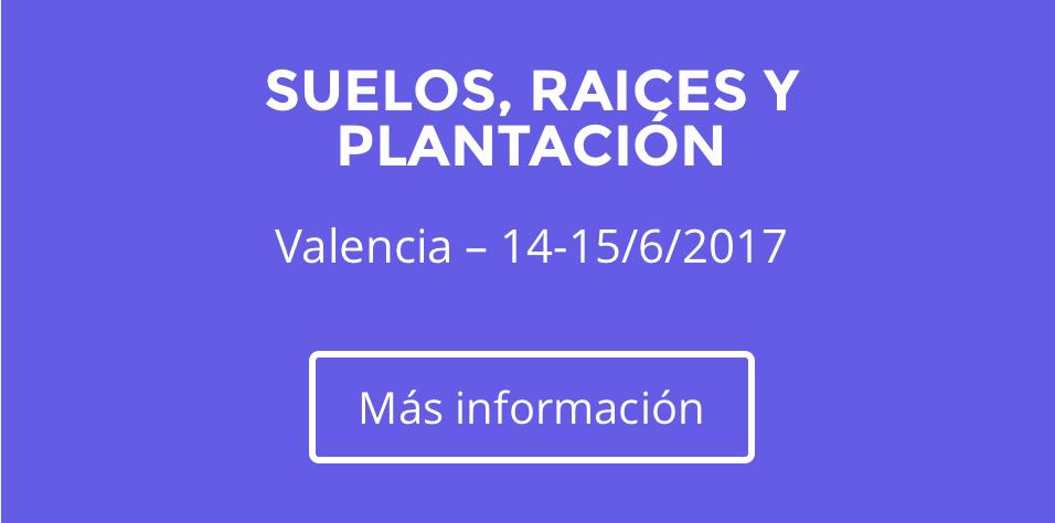 CURSO SUELOS, RAICES Y PLANTACION -VALENCIA 14-15 DE JUNIO 2017