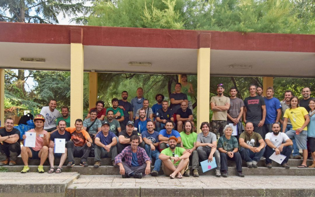 Finalizada Certificación European Tree Worker, edición 2017