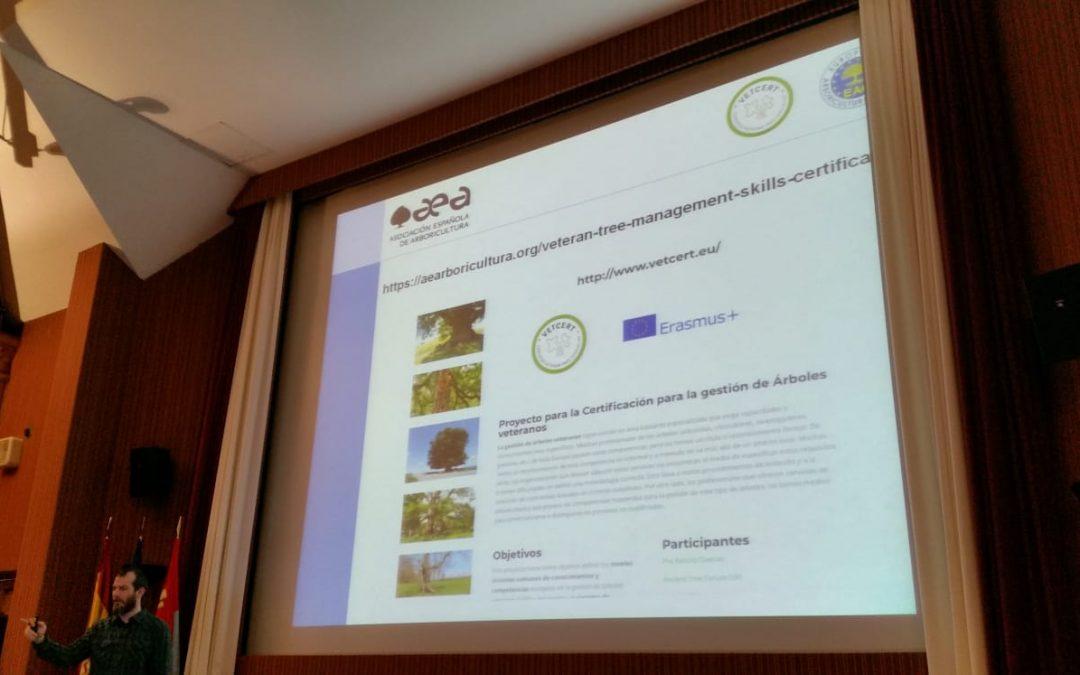 Estuvimos en el Curso de especialización y Gestión en árboles y arboledas singulares, organizado por CENEAM VALSAIN (Segovia)