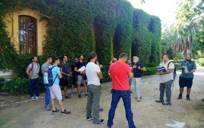 Estamos en el curso de Inspección de poda en Valencia
