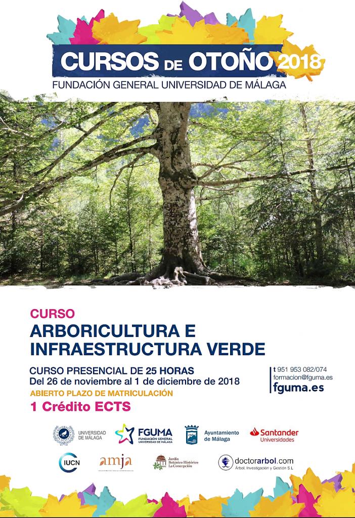Curso de otoño Arboricultura e Infraestructura verde
