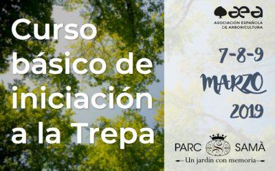 CURSO BÁSICO DE INICIACIÓN A LA TREPA. CAMBRILS, PARC SAMÀ 6-7-8 DE MARZO