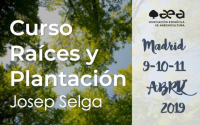 CURSO RAÍCES, CALIDAD Y PLANTACIÓN. JOSEP SELGA. MADRID 9-10-11 DE ABRIL 2019