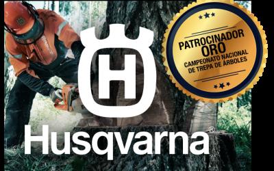 HUSQVARNA: PATROCINADOR ORO DEL CAMPEONATO DE TREPA 2019