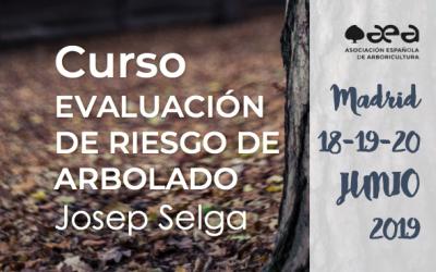 CURSO: EVALUACIÓN DE RIESGO DE ARBOLADO. JOSEP SELGA, MADRID, 18-19-20 DE JUNIO