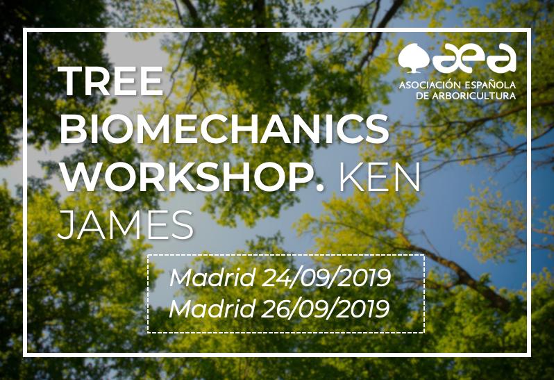 Tree Biomechanics Workshop', con KEN JAMES, un éxito de convocatoria
