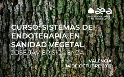 CURSO: SISTEMAS DE ENDOTERAPIA EN SANIDAD VEGETAL. VALENCIA 14/10/2019