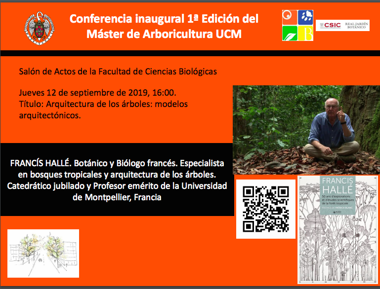 Conferencia Inaugural de la 1ª Edición del Master de Arboricultura UCM