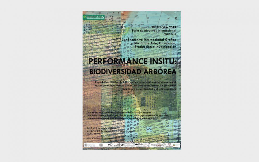 Biodiversidad arbórea, Performance participativa en el Salón del Árbol