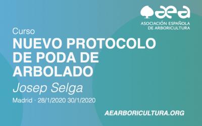 CURSO: NUEVO PROTOCOLO DE PODA DE ARBOLADO MADRID ENERO 2020