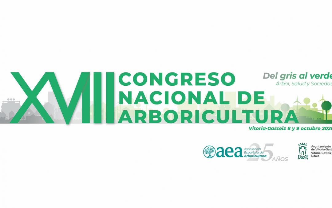 Continuamos con la organización del XVIII Congreso Nacional de Arboricultura