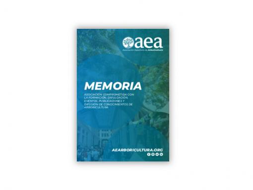 Memoria de la Asociación Española de Arboricultura