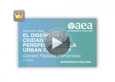 Webinar: El diseño de la ciudad Urban Forestry