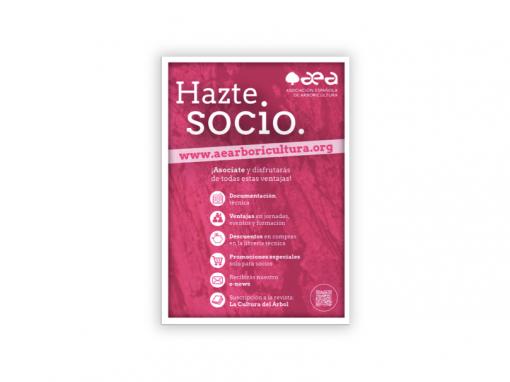 Flyer «Hazte Socio AEA»