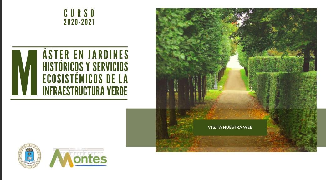 Módulo de Gestión de Arbolado Urbano en el II Master en Jardines Históricos y Servicios Ecositémicos de la Infraestructura Verde