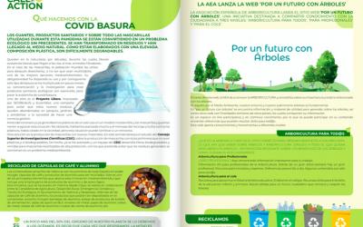 """""""Por un futuro con árboles"""" en los medios"""