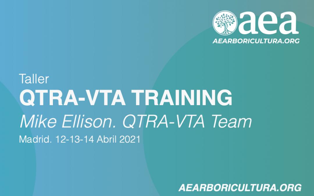 Curso QTRA-VTA – Edición 2020 – Madrid 12-13-14 de abril