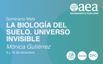 Webinar LA BIOLOGÍA DEL SUELO con Mónica Gutiérrez