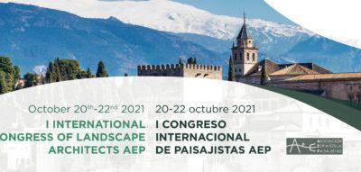 Primer Congreso Internacional de Paisajistas AEP