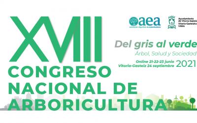 Gran selección de ponentes en el XVIII Congreso Nacional de Arboricultura