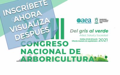Congreso online de arboricultura: Inscribete ahora, visualiza después