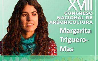 Margarita Triguero-Mas, ponente del Congreso Nacional de Arboricultura on line