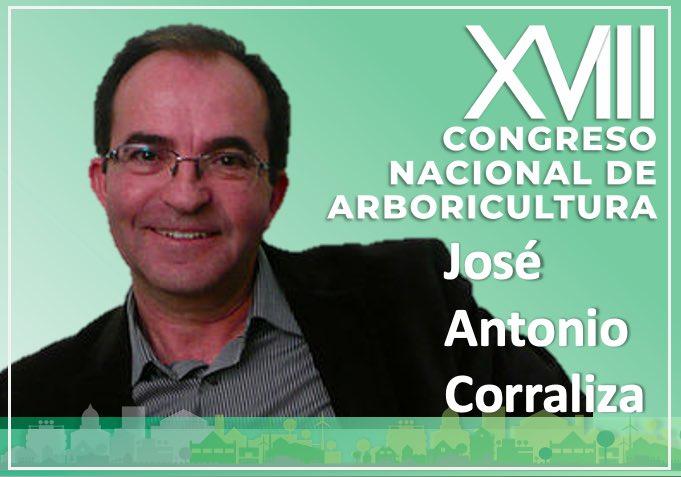 José Antonio Corraliza, ponente presencial del XVIII Congreso Nacional de Arboricultura