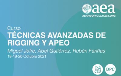 CURSO: TÉCNICAS AVANZADAS DE RIGGING Y APEO
