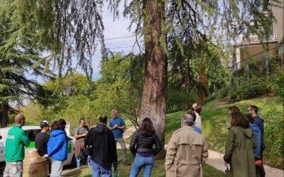 Comienza la Formación QTRA 2021, en la Rosaleda del Parque del Oeste de Madrid