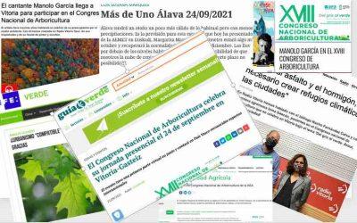 Resumen de la repercusión mediática del XVIII Congreso Nacional de Arboricultura